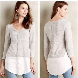 Anthropologie Moth Aseylin Sweater
